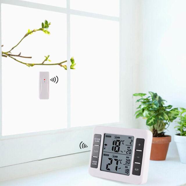 Lihou Digital Temperature Meter with Remote Temp Sensor Thermometer for Fridges Freezers
