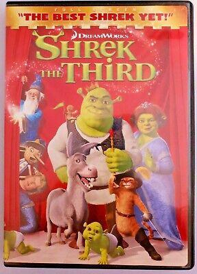 Shrek The Third Dvd 2007 Full Screen Dreamworks 97361312149 Ebay