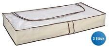 2er Set Unterbettkommode Kommode Bett Unterbett Aufbewahrung Kleiderhülle