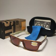 53d6446cd4 Costa Hinano Polarized 580p Polarized Sunglasses Copper Driftwood - MSRP   179