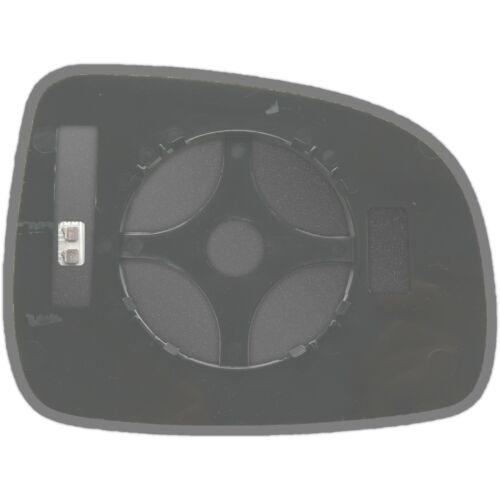 Links Fahrerseite Spiegelglas Beheizbar für Nissan Note 2004-2013