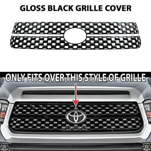 for 2018-20 Toyota Tundra SR 5 Platinum Black Snap On Grille Overlay Front Cover