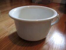 Vintage Porcelain Chamber (Pee) Pot - Marked Warrented