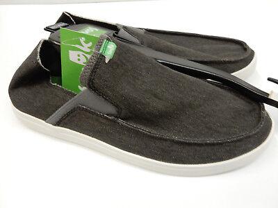 Men/'s Shoes Sanuk VAGABOND Mixer Slip On Sidewalk Surfers 1100571 GREY MLT BLNK