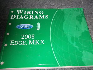 2008 ford edge lincoln mkx electrical wiring diagram diagrams manual rh ebay com 2016 ford edge wiring diagram ford edge trailer wiring diagram