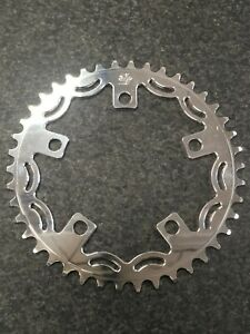 Snap BMX Products Series II 110mm 5 bolt Chainring - 43t Polished