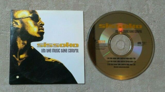 """CD AUDIO MUSIQUE / SISSOKO """"LET THE MUSIC TAKE CONTROL"""" 3T CDS 2003 CARDSLEEVE"""