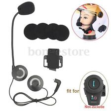 Motorcycle Helmet Headset Speaker For Bluetooth Intercom Interphone FM Radio 500