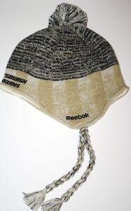 Pittsburgh Penguins Reebok Face Off NHL Mohawk Style Knit Hockey Cap Alternate