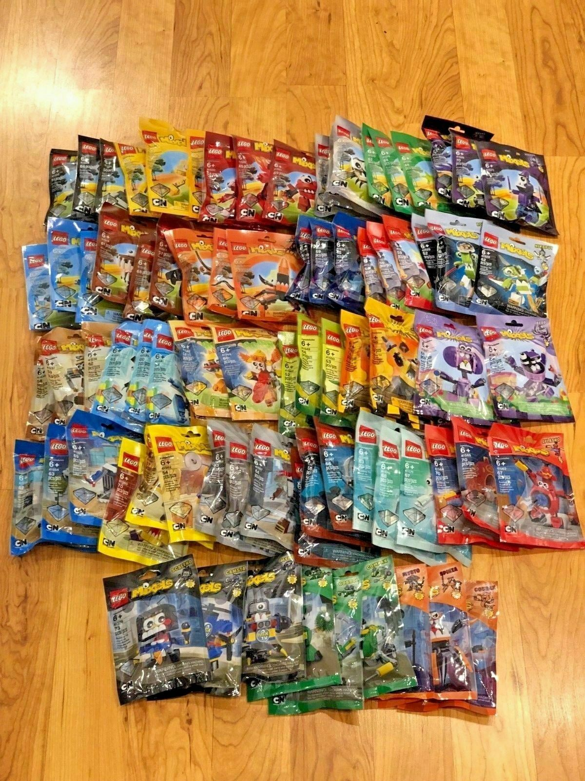 Lego Mixels - All 81 Sets - Series 1 to 9 Complete  Rare  Retirot  Discontinued