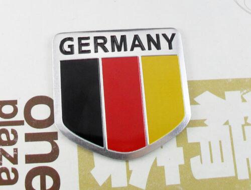 Autocollant 3D voiture moto camping-car emblème drapeau Allemagne Germany
