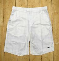 NIKE NADAL DRI-FIT WOVEN MEN'S TENNIS SHORTS WHITE NEW XL