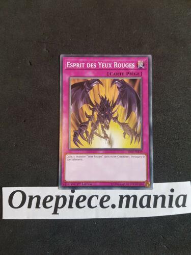 Yu-Gi-Oh Esprit des Yeux Rouges SD Dragon Noir : SS02-FRB19 -VF//Commune