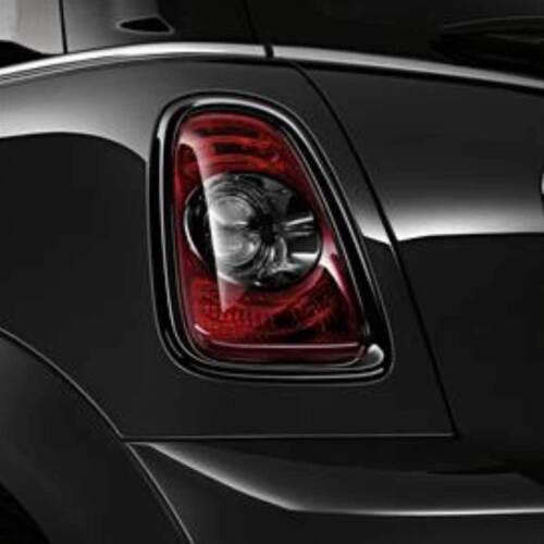 Mini Cooper Blackout Brake Light Trim Pair Oem Gen2 R56 R57 R58 R59