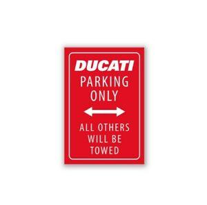 DUCATI-Kuehlschrank-Fridge-Magnet-DUCATI-Parking-Only-rot-NEU-2020