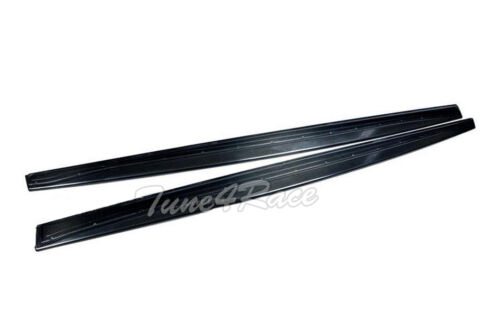 For 14-Up BMW 4-Series F36 Carbon Fiber Side Skirts Extension Performance Style