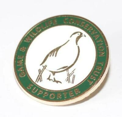 GWCT Badge Game /& Wildlife Conservation Trust