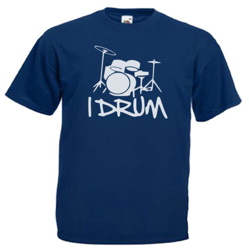 Drummer Drum Kit Children/'s Kids T Shirt