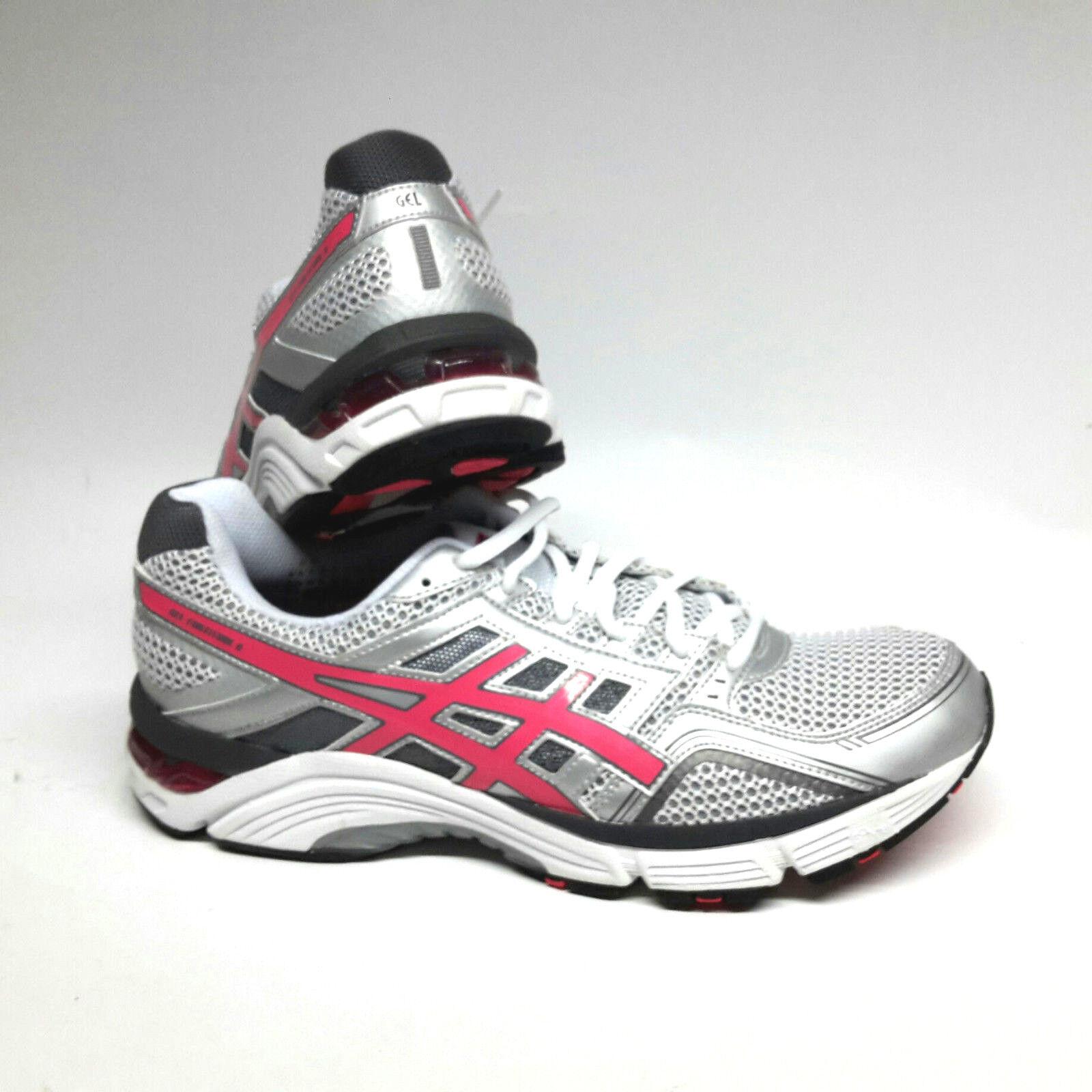 5f351cd74a0ff5 ASICS Gel Fortitude 6 Women Femmes Chaussures De Course Blanc Rose Argent T  UK 11 EUR