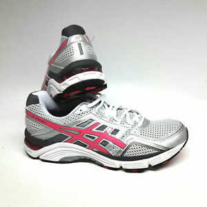 Asics-Gel-Fortitude-6-Women-Damen-Laufschuhe-weiss-pink-silber-Gr-UK-11-Eur-46