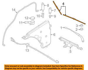 BMW OEM 12-15 328i Wiper Arm-Front Blade 61612241375