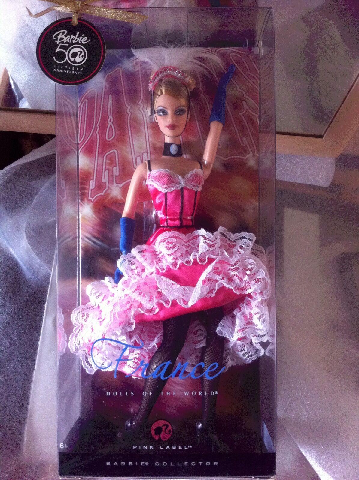 Poupée Barbie France French Cancan Neuve En Boite Doll NRFB ...
