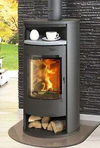 kamin ofen olympus v1 mit naturstein teefach und holzfach kaminofen uvp 599 ebay. Black Bedroom Furniture Sets. Home Design Ideas