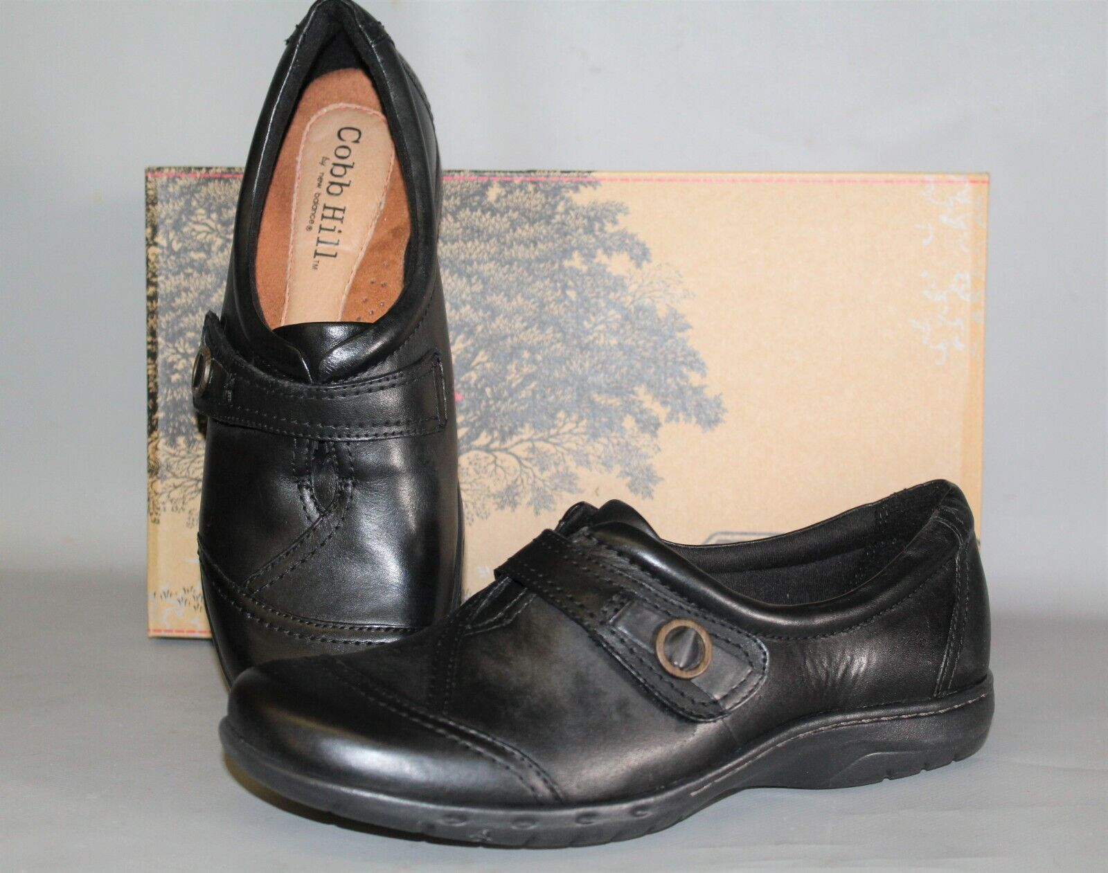 centro commerciale online integrato professionale NEW Donna  Cobb Hill Pamela Dimensione 9.5 9.5 9.5 Medium nero Leather Casual Shoe  varie dimensioni