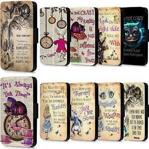 Alice In Wonderland Looking Glass Flip Case Wallet Cover iPhone 5 ...