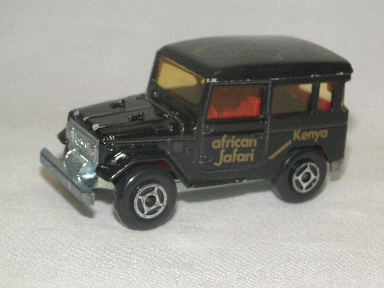 Majorette No. 277 Toyota Kenya african Safari Raid 86 Land Cruiser 1 53