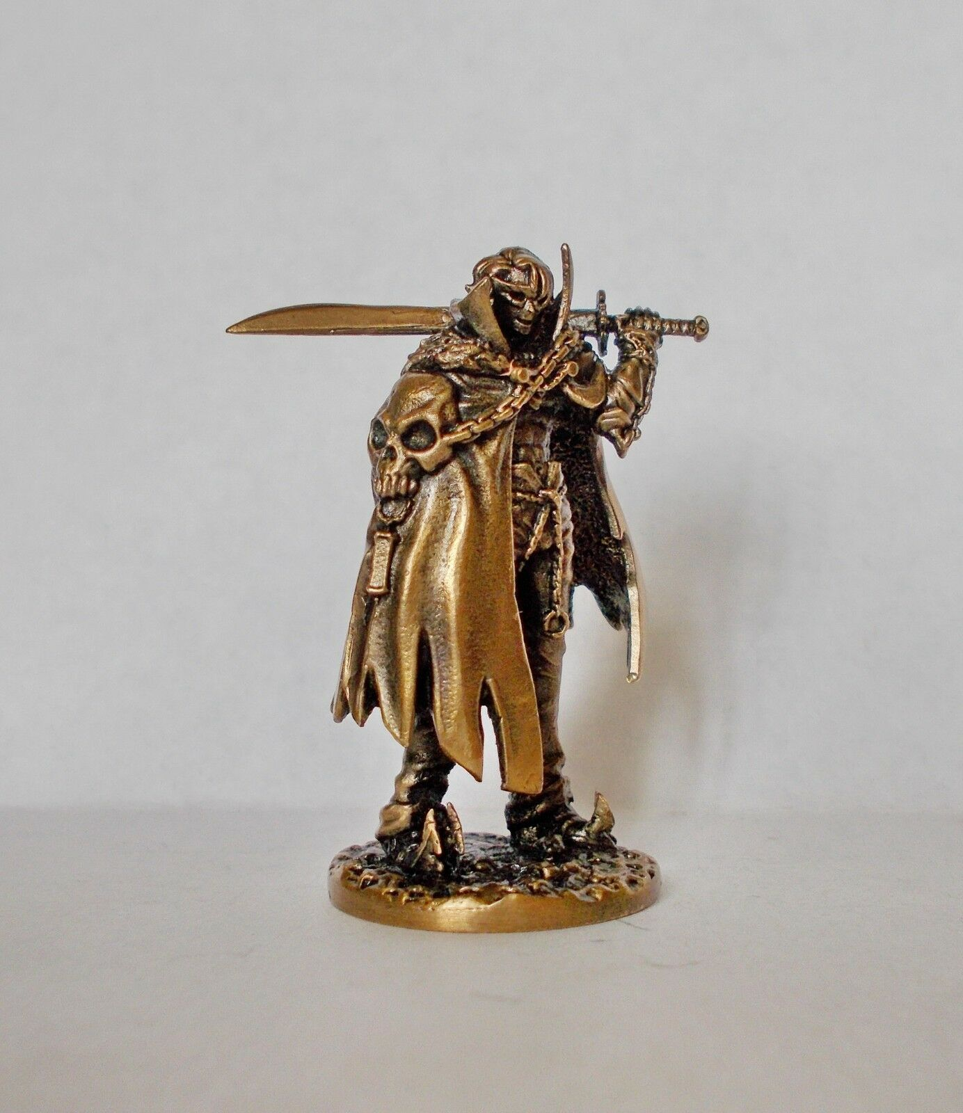 Kingdom Death Messenger of the Spiral Path BRONZE (metal) conversion  DK19