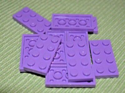 10x LEGO NEW 2x4 Medium Lavender Brick 4655173 Brick 3001