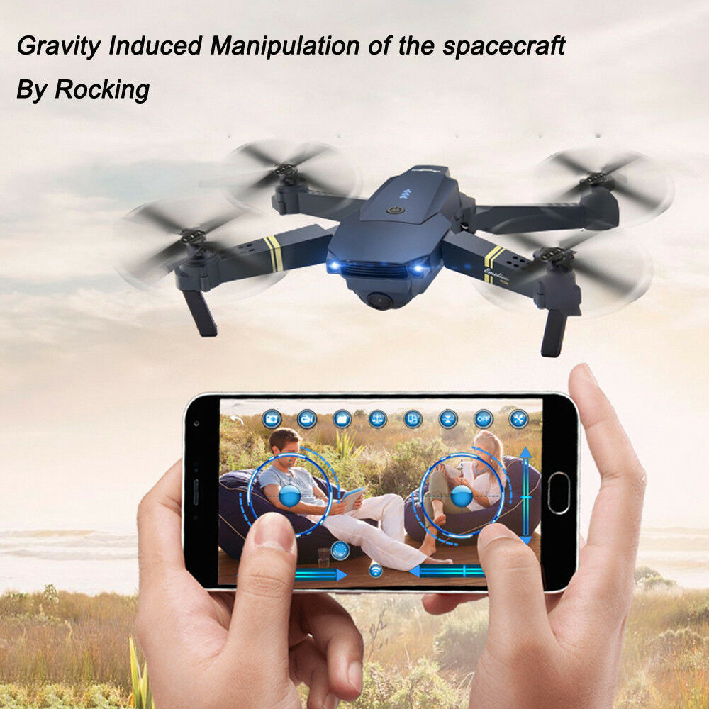 Wifi E58 2.0 MP FPV Foldable 720P HD Camera Selfie Drone RC Quadcopter RTF