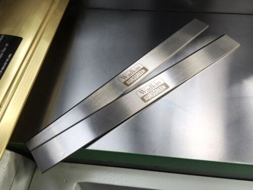 1 Pair Axminster AW 128 PT Lames 310 x 30 x 3 t1 HSS Genuine Wadkin bursgreen