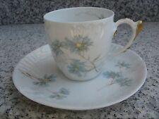 TASSE à CAFE Porcelaine LIMOGES Belle dorure+Relief