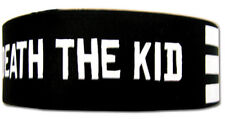 *NEW* Soul Eater: Death the Kid Stripe PVC Wristband by GE Animation