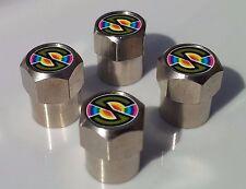Neumático de aleación de coche de espectro tapas de la válvula para Válvulas de Neumáticos