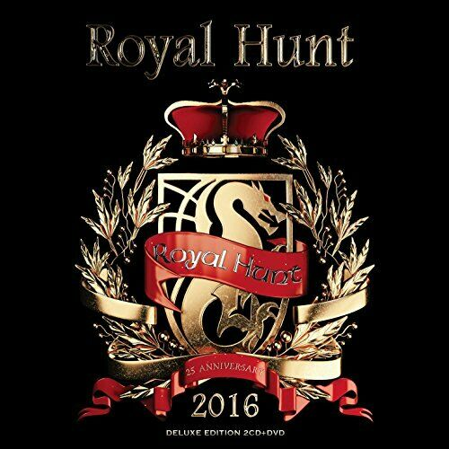 Royal Hunt - 2016 (Deluxe Edition) (Cd+dvd) - Double CD - New