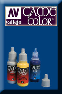 Game Color Magic Blue 72021 Acrylic Paint Vallejo Bonne RéPutation Sur Le Monde