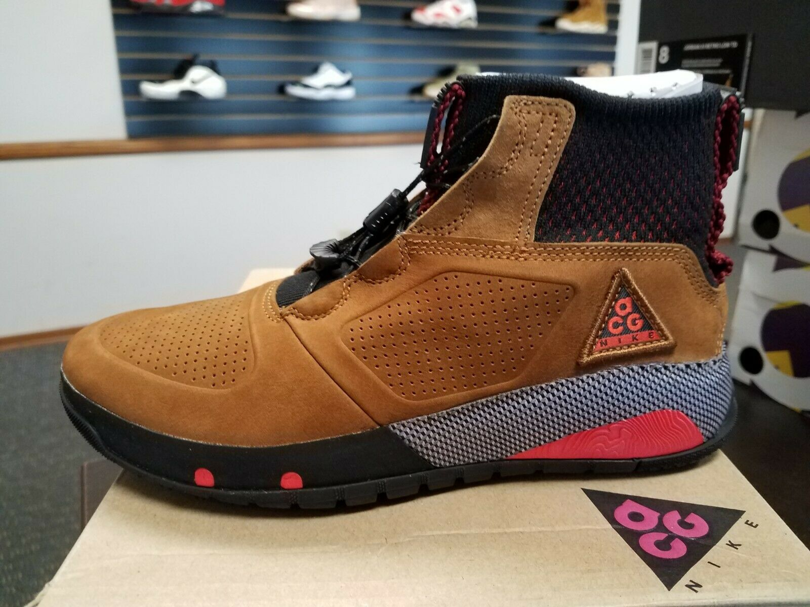 Brand New Men's Nike ACG RUCKEL RIDGE ALL CONDITIONS GEAR HIKING AQ9333-226