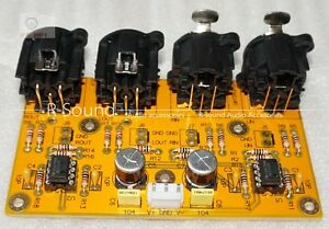 High-fidelity-equilibre-Preampli-RCA-convertir-a-XLR-Preamplifier-kit