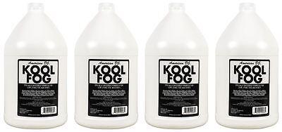 (4)  American DJ Kool Fog 1 Gallon Fog/Mist Fluid/Juice for Mister Kool