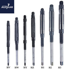 7 Pieces Set Pcs Adjustable Hand Reamers Hv To H3 6 Blades 14 To 1532