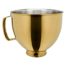 KitchenAid 5-Quart Stainless Steel Metallic Bowl | Radiant Gold