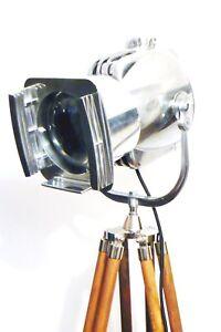 VINTAGE-STRAND-OF-LONDON-FILM-LAMP-ANTIQUE-FLOOR-LIGHT-STUDIO-BAUHAUS-ALESSI