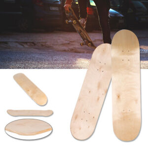 8inch-8-Layer-Maple-Blank-Double-Concave-Skateboards-Natural-Skate-Deck-Board