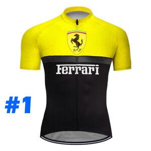 Short Cycling Jersey MTB Bike Shirt Bib Clothing Ride Motocross Sports Race Wear