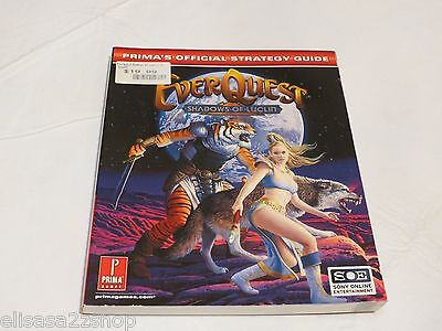 Everquest : Shadows of Luclin Prima's Official Strategy Guide game strat RARE