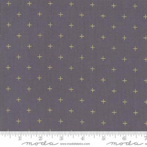 Moda ZenChic Modern Background Luster Metallic Positive Fabric Graphite 1616-17M