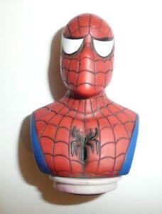 Spider-Man-Bust-Stamp-Arts-Crafts-Figure-Marvel-Comics-Avengers-Spiderman